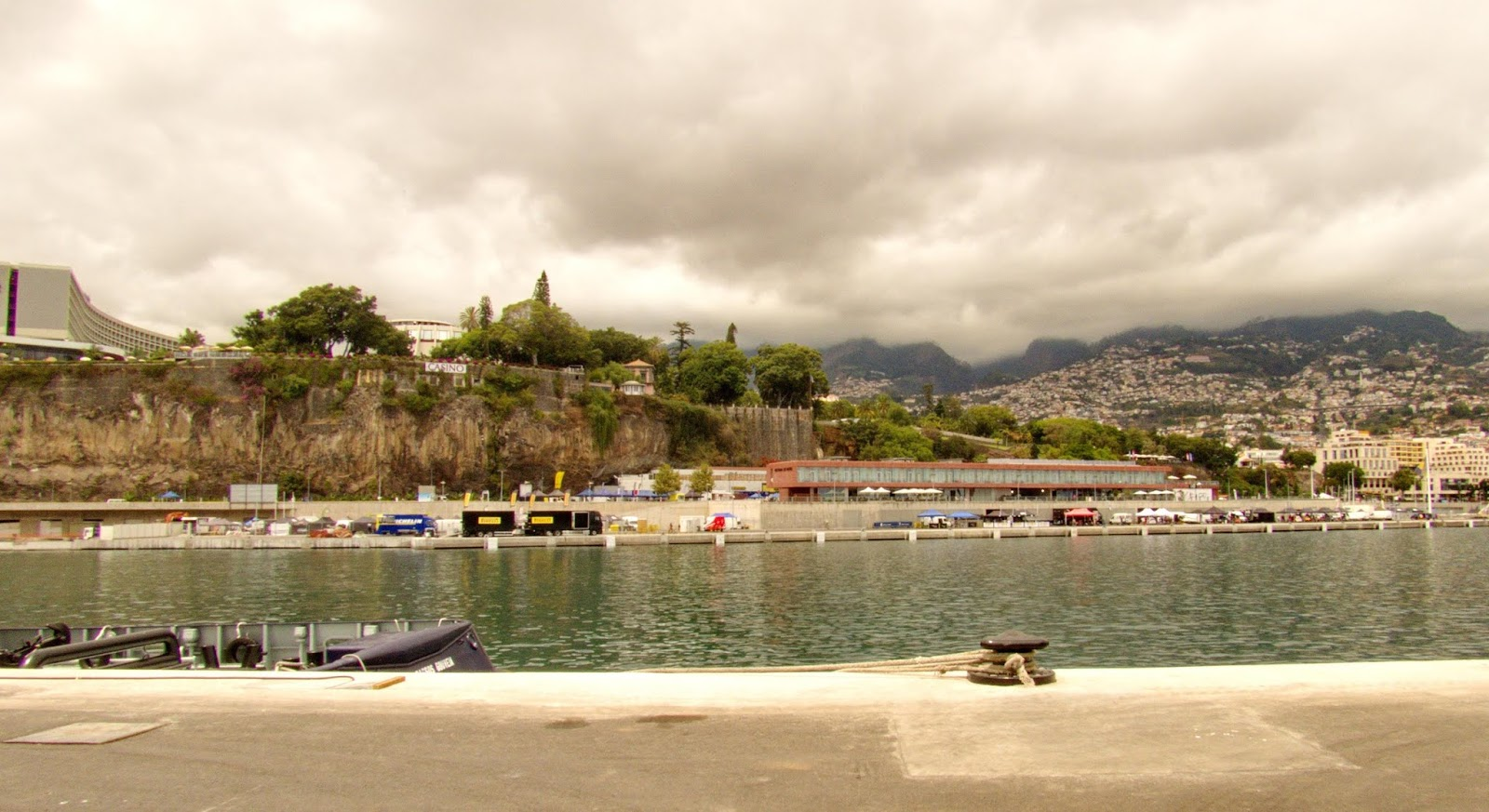 vistas desde o porto