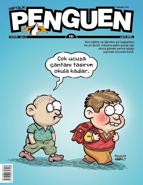Penguen Dergisi | 22 Eylül 2016 Kapak Karikatürü
