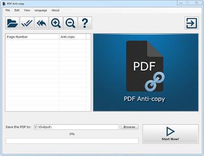 تحميل برنامج حماية ملفات PDF من النسخ والطباعة PDF Anti-Copy Pro