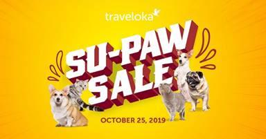 Amazing travel deals await with Traveloka's Su-Paw Sale