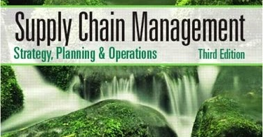 Supply Chain Management Book By Sunil Chopra Pdf