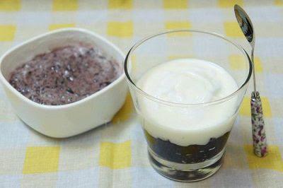 Cách làm sữa chua nếp cẩm bằng nồi cơm điện