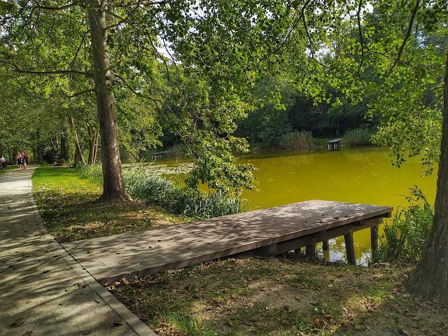 Park w Szczodre pod Wrocławiem, zabawy dla dzieci