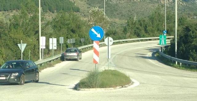 Ηγουμενίτσα: Ασυνείδητος παρκάρει το αυτοκίνητο ανάποδα στην έξοδο της Εγνατίας