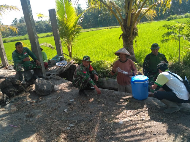 TMMD Reguler 105 Tahun 2019 Wujudkan Kekompakan TNI Dengan Petani