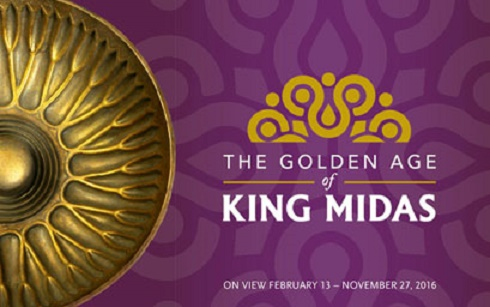 'The Golden Age of King Midas' at the Penn Museum, Philadelphia