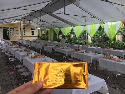 nấu cỗ cưới tại nhà Hà Nội