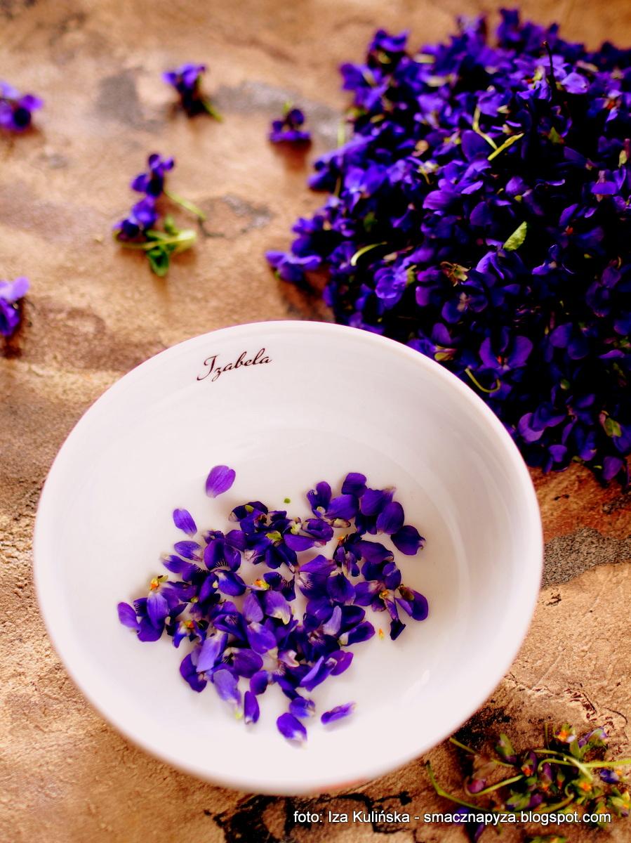 kwiaty_jadalne, fiolek_wonny, viola_odorata, konfitura_fiolkowa, dzem_z_fiolkow