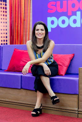 Natália Leite vai apresentar o SuperPoderosas - Divulgação/Band