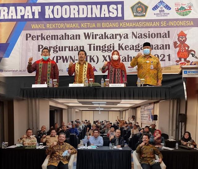 IAIN Batusangkar Siap Sukseskan PWN-PTK XV Tahun 2021 di Palembang