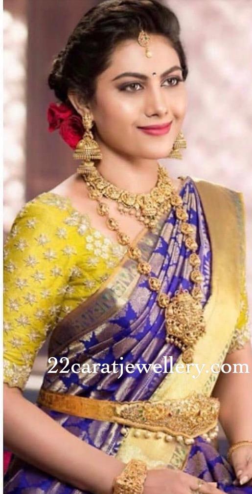 Priyanka Naidu Nakshi jewellery