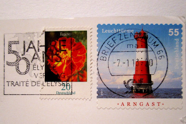 lighthouse stamp
