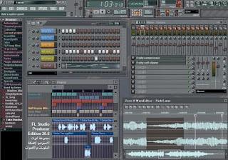 FL Studio Producer Edition 20.6 مجموعة أدوات الاستوديو لإضافة المكونات والأصوات