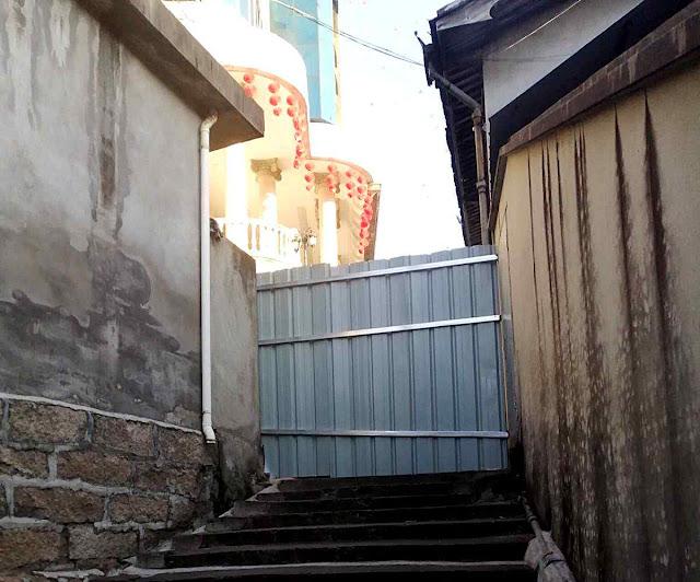 Casa de Misericórdia católica fechada em Saiqi.