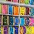 Colorful bangles sets