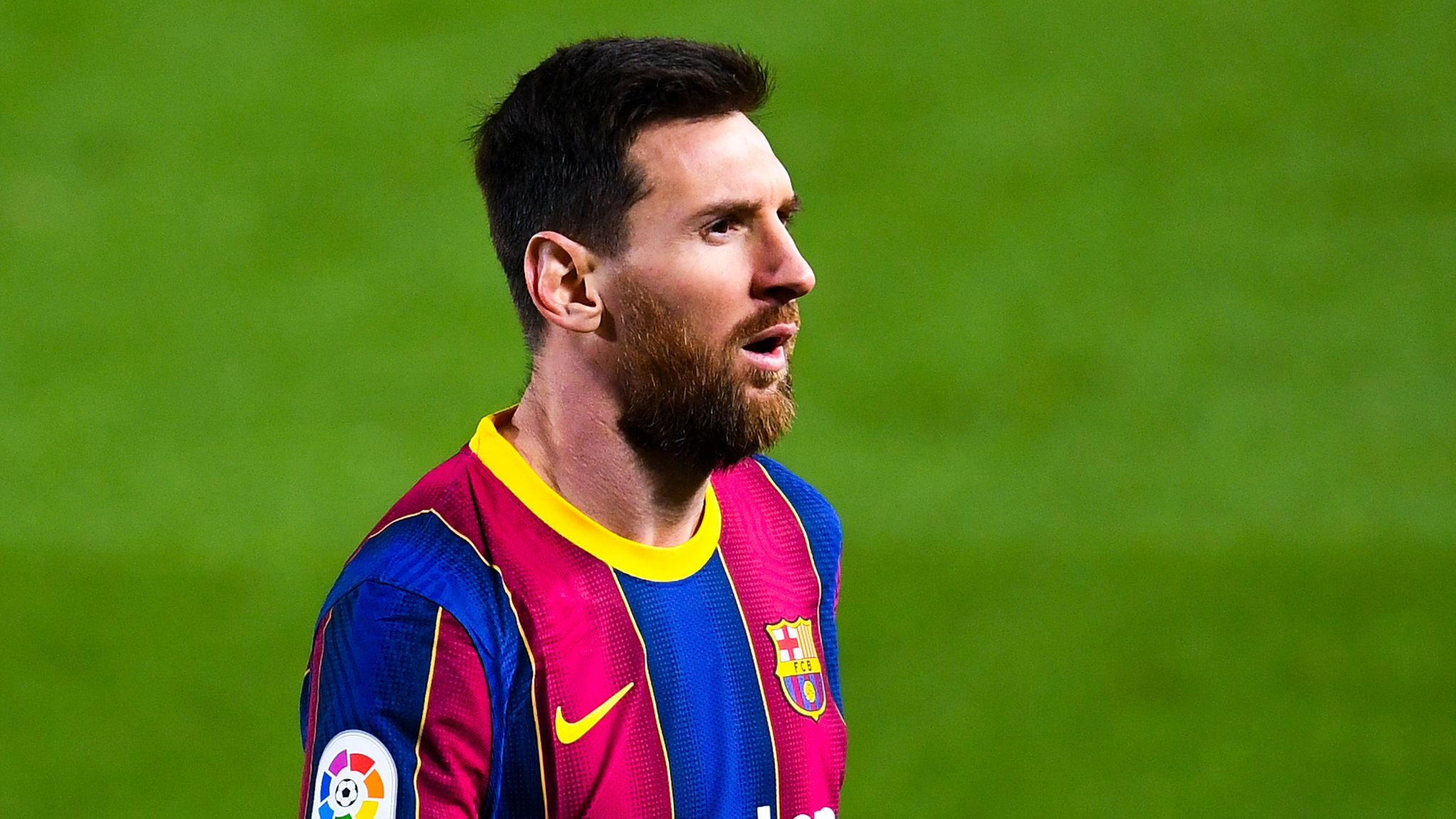 Lionel Messi's Barcelona will seek to close the gap at the top when the Catalans travel to Real Sociedad