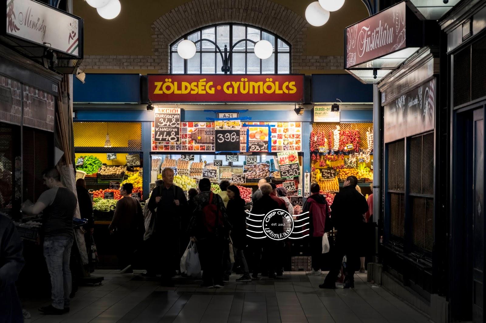Budapest Central Market Hall (Nagyvásárcsarnok) @ Hungary