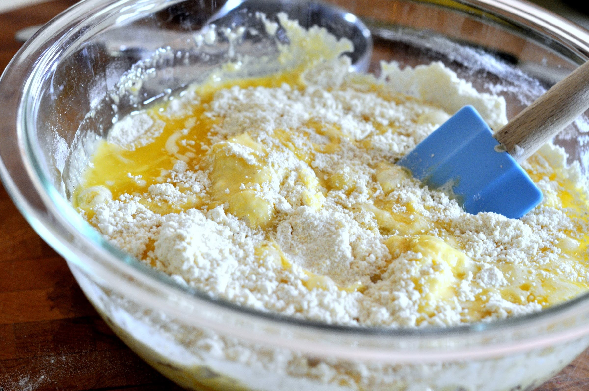 Honey Cornbread Muffin Batter | Taste As You Go