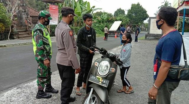 PUTUS RANTAI COVID-19, TEAM GABUNGAN TNI-POLRI TERUS LAKUKAN OPRASI PENYEKATAN