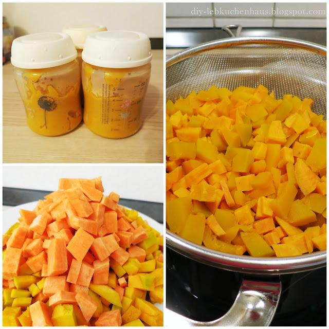 Rezept für Gemüse-Kartoffel-Fleisch-Brei