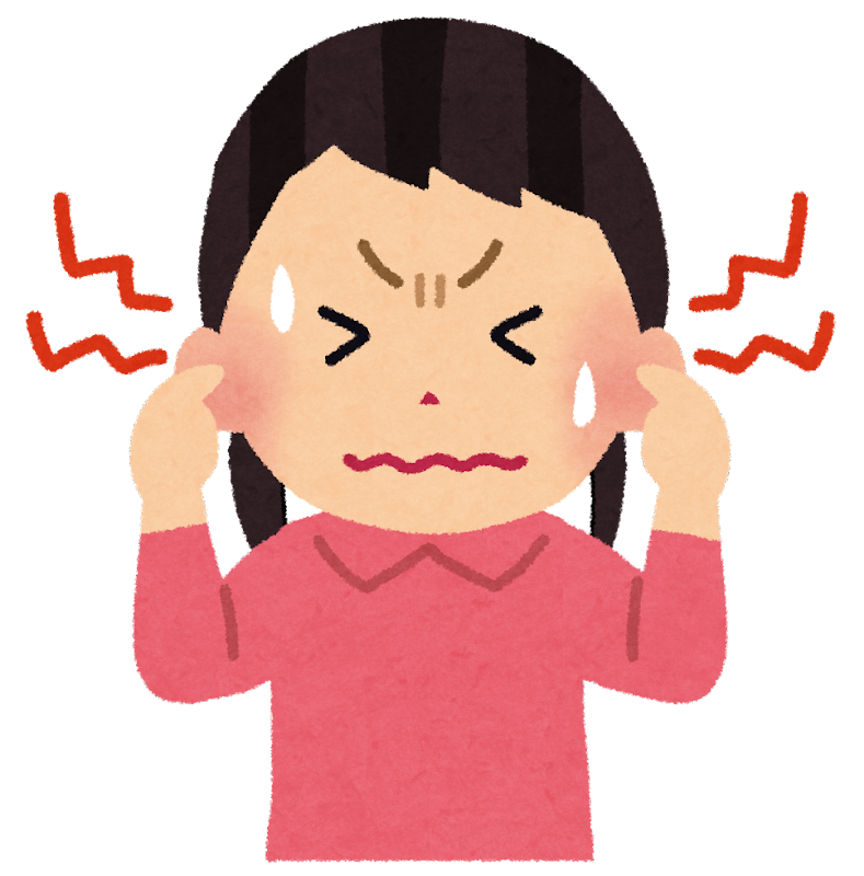「耳鳴り イラスト 無料」の画像検索結果