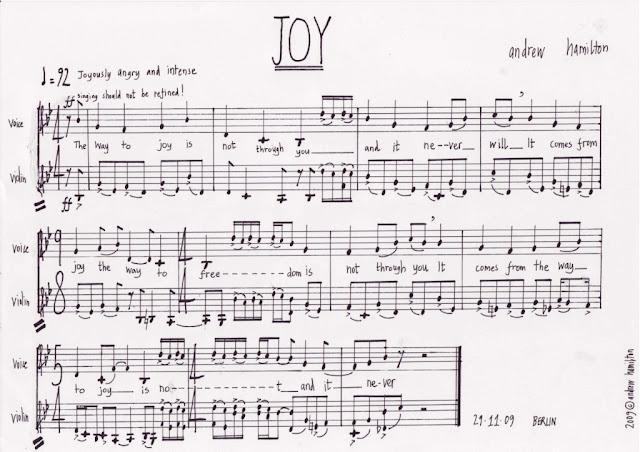 Andy Hamilton: Joy