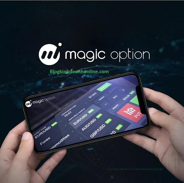 Sàn trade Magic option là gì