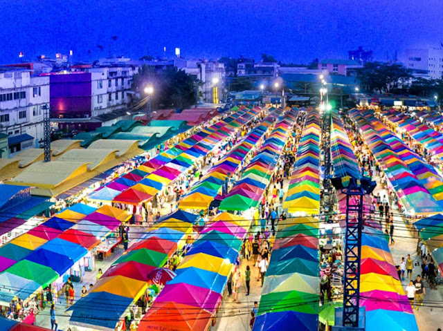 Marknader Rayong