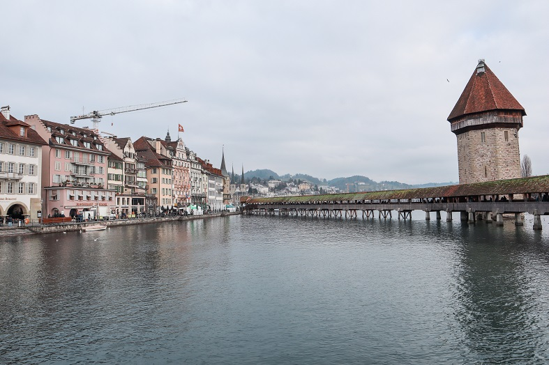 Vista sulla città di Lucerna