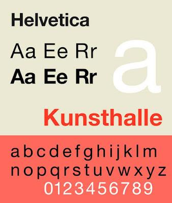 Helvetica best cv font