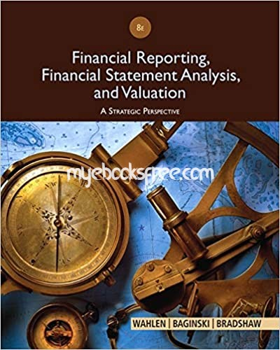 Financial Reporting, Financial Statement Analysis and Valuation Pdf Book