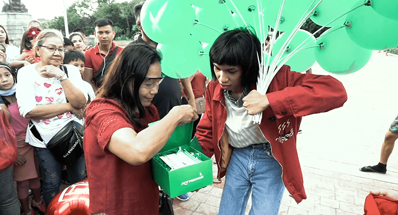 XTREME, Mimiyuuuh have given away appliances last Valentine's