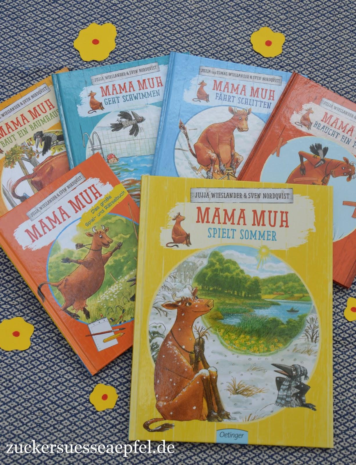Das Neue Kinderbuch Mama Muh Spielt Sommer Mit Einer Tollen