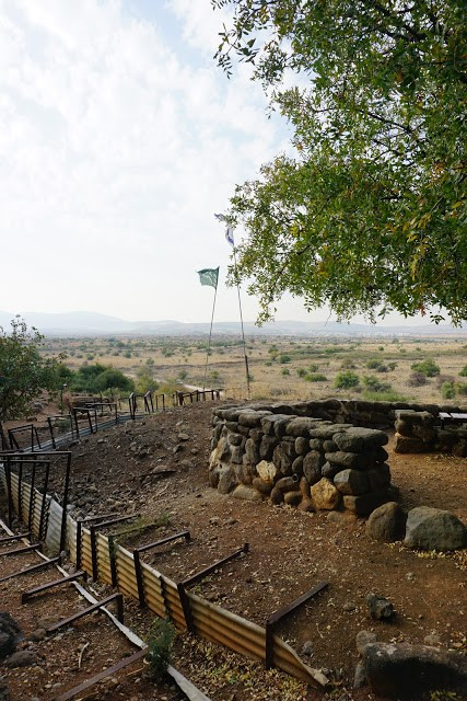 שרידי מלחמת ששת הימים בתל דן