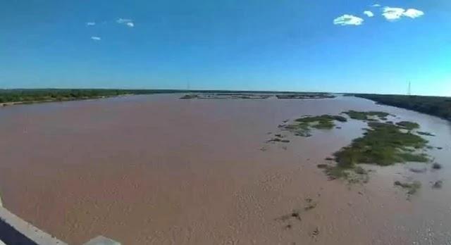 Na região Oeste da Bahia, o São Francisco já estava com cerca de quatro metros desde a semana passada.