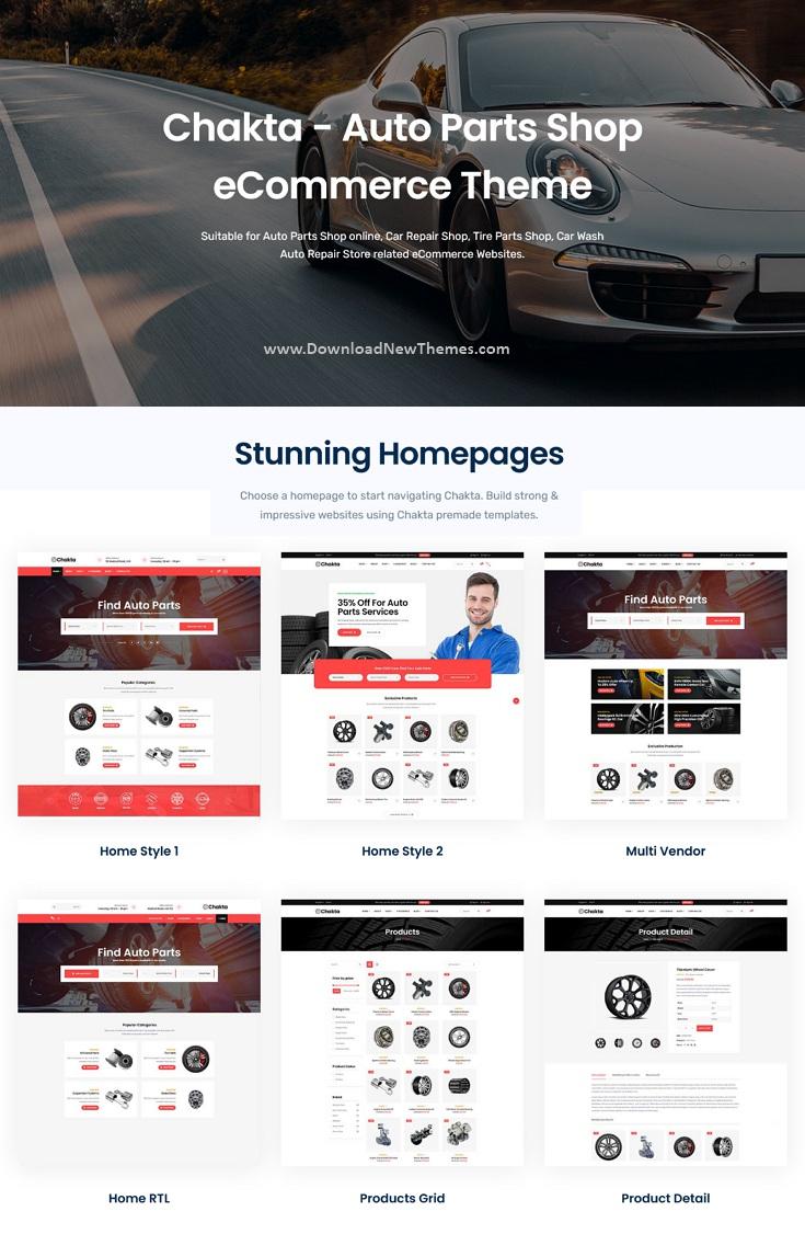 Auto Parts Shop WooCommerce Theme