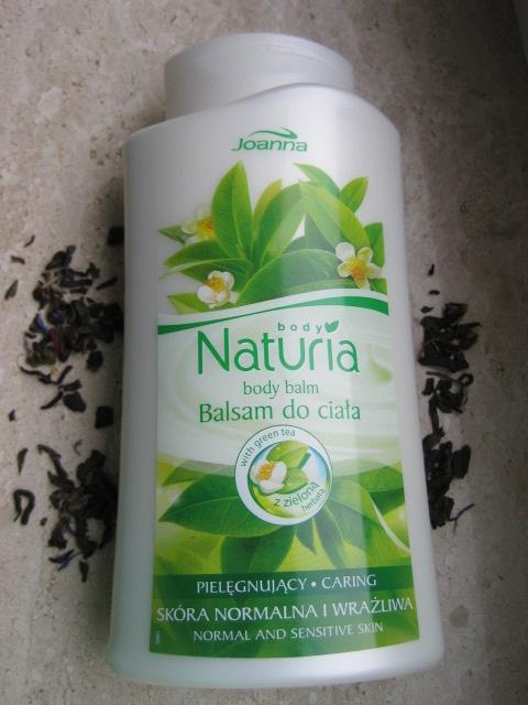 Body Naturia Balsam do ciała z zieloną herbatą.