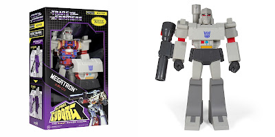 Transformers Super Cyborg Megatron G1 Edition Action Figure by Super7
