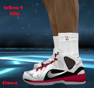 timeless design cbe85 fdb8f NBA 2K12 Lebron IX Elite HD Shoes Patch