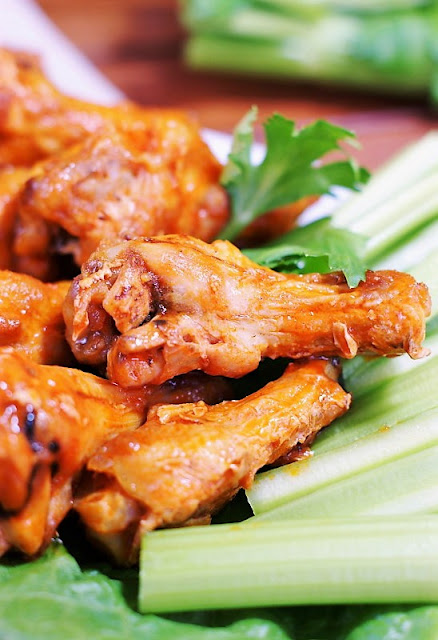 Baked Buffalo Wings Image