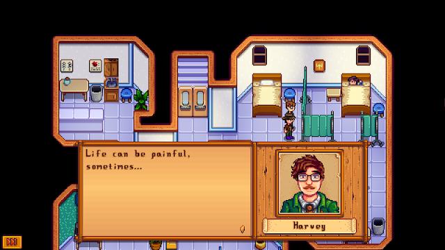 Dokter Harvey yang sedang merawat pasiennya.