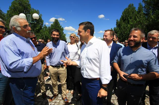 Ο Αλέξης Τσίπρας στο Κιλελέρ: Η κυβέρνηση έχει χρήματα για ανύπαρκτα ΜΜΕ, αλλά ψίχουλα για τους αγρότες