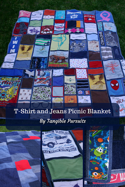 T-shirt and Jeans Picnic Blanket