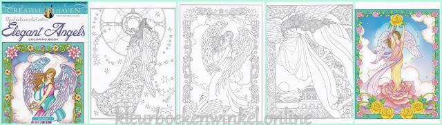 kleurboek elegant angels
