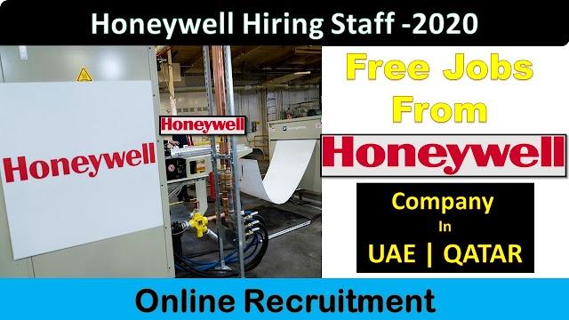 Honeywell Hiring Staff In UAE & QATAR 2020