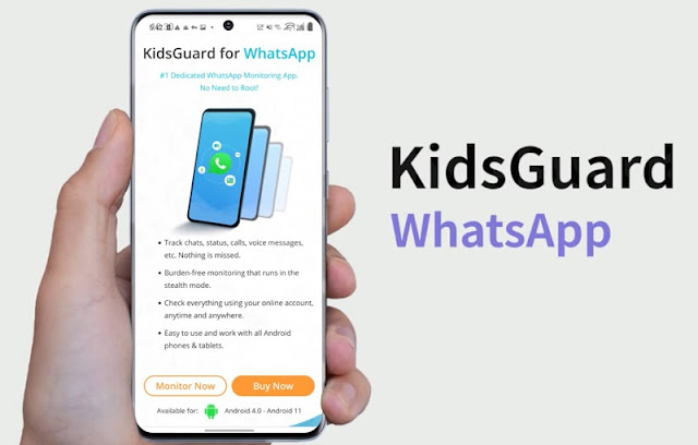 kidsguard for whatsapp
