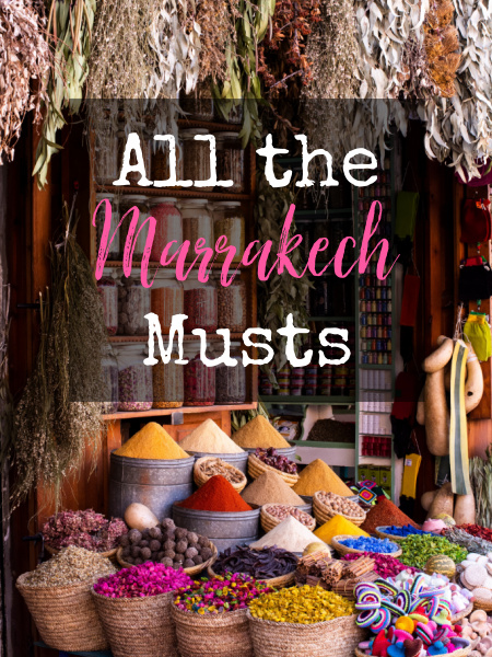 "On our last Destination Date Night, we ""traveled"" to Marrakech. Since we learned a lot of cool things to see and eat, I thought I'd share with you."