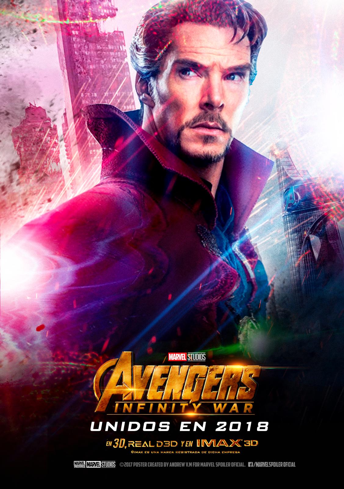Marvel Spoiler Oficial: Avengers INFINITY WAR Posters ...