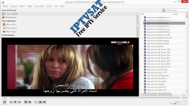 playlist m3u iptv arabic