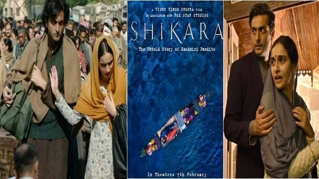 Shikara A Love Letter From Kashmir Bollywood movie Trailer review